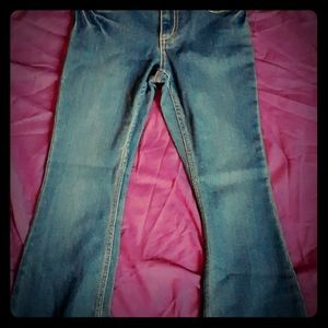 Girls Moossimo Skinny Flare Jeans-Size 8